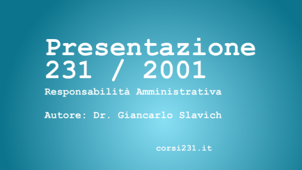 video presentazione sgar Giancarlo Slavich